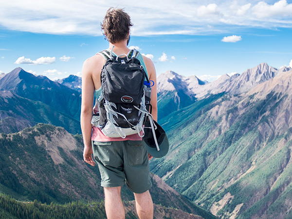 Photo of a hiker
